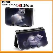 Funda protector Nintendo 3DS XL carcasa dibujos gato