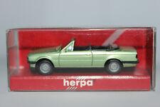 BMW 3er E30  Cabrio hellgrünmetallic  Herpa  1:87