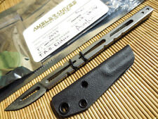 AMSLER HURRICANE RAZOR 2049 TAD Edition - Triple Aught Design -Custom knife -NEW