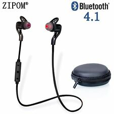 Bluetooth 4.1 Wireless Stereo Earphone Earbuds Sports Headset Headphone Black