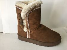 Comfort and Fashion women winter boot SISSI Tan-- FREE POSTAGE!