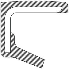 Wheel Seal Front National 710107
