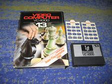 INTERTON 4000 VC 4000 Schach  NR. 13 BIG BOX selten mit Tastenschablonen