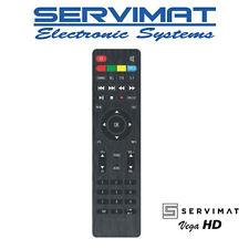 Servimat Vega HD TNTSAT Original Remote Control  Brand New