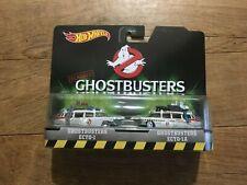 Hot Wheels Classics Ghostbusters Ecto-1, Ecto-1A set NEW