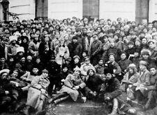 Lenin Trotsky Voroshilvov 10th Bolshevik Congress Russia 7x5 Inch Reprint Photo