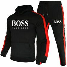 DE Herren 2Pic Jogging Anzug Sweatshirt Hosen Trainingsanzug Sportanzug