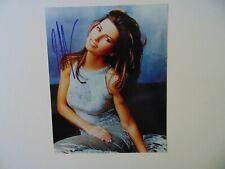 """Still the One"" Shania Twain Hand Signed 8X10 Color Photo Todd Mueller COA"