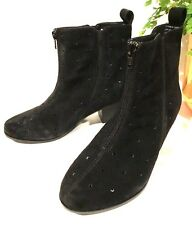 sz 38/7 TS TAKING SHAPE  Katherine Ankle Boot Comfy Soft Suede leather  NIB $180