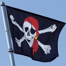 3x5 ftCalico HalloweenDecoration Pirates Caribbean Ghost Head SkullCrossbones TH