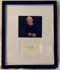 John Paul Stevens signed Matted with photo frame size 8x10 COA 11/18