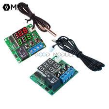 Digital Dual LED DC 12V Timer Relay Module 5V Temperature Controller Thermostat