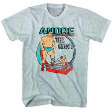 Andre the Giant Big Wrestler Cartoon Men's T-shirt OFFICIAL Merch