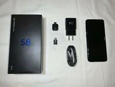 Samsung Galaxy S8 Sm-G950U - 64Gb - Midnight Black (Unlocked) + Accessories