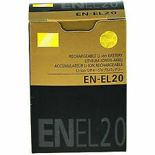 Nikon EN-EL20 Battery Nikon Coolpix P1000, DL24-500, Coolpix A, 1 AW1, 1 J1, 1 J