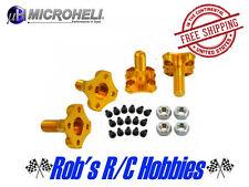SALE! mh-35qx201pa set blade 350 microheli cnc al pro adapter GOLD