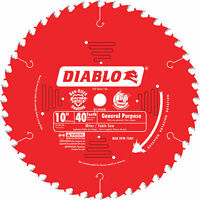 Freud Diablo Saw Blade -10in x 40T, # D1040X