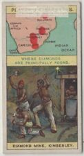 Kimberly Diamond Mine South Africa 100+ Y/O Ad Trade Card