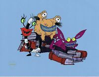Aaahh!!! Real Monsters Limited Edition Sericel 1990's Animation Art