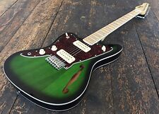 Revelation Left Handed Thin Line RJT-60 TL- GRS Green Burst RRP 349.00