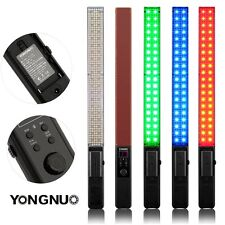 YONGNUO YN360 Pro 5500k RGB LED Video Light Colorful Full Stick F750 Battery UK