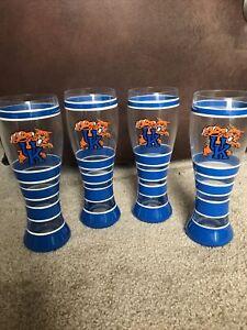 UNIVERSITY OF KENTUCKY Wildcats DRINKWARE PILSNER GLASS (24oz) Set of 4
