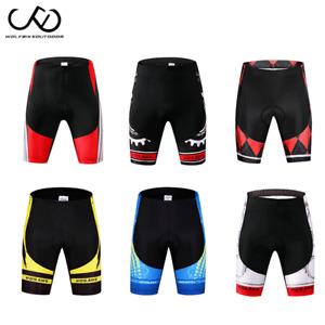Summer Mens Cycling Short Pants MTB Road Bike Pants Bicycle 3D Gel Padded Shorts