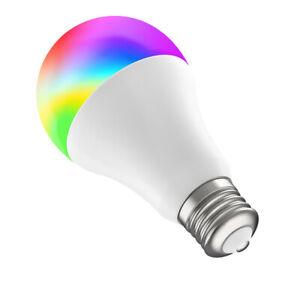 Bombilla inteligente Muvit A60 E27/8,5W/800lm RGB+BlancosD60*H110