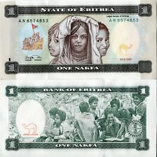 Eritrea Eritrean 1997 1 One Nakfa Africa UNC Banknote First Series