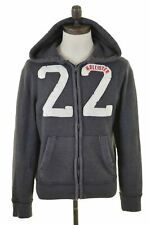 HOLLISTER Mens Hoodie Sweater Small Grey Cotton  EV19