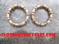 """2 HEADSET HEAD IMPORTED BEARING RETAINER 5//32/"""" 16 BALL #1149"""