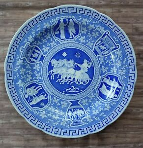 SPODE BLUE ROOM COLLECTION Traditions Series GREEK DINNER PLATE 10.5 England