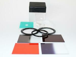 Boxed Set of Glass COKIN Camera Lens Filters