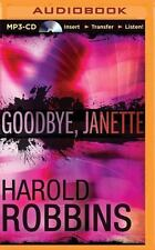 Goodbye, Janette by Harold Robbins (2015, MP3 CD, Unabridged)