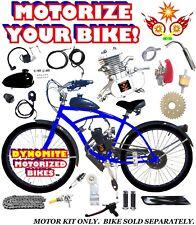 66cc/80cc 2-Stroke Motorized Bike Kit To Motorize Your Own Bike Power Diy New