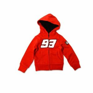 Bikeit Marc Marquez 93 Kid's Winter Hoodie Red Official VR 46 Product
