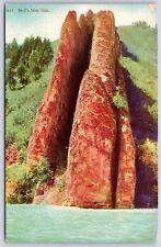 The Devil's Slide Weber Canyon near Croydon, Utah Undivided Back Early Postcard