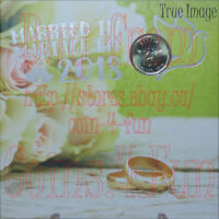 Married in 2018 - Wedding Gift 5-coin Set $2, specially struck $1, 25c, 10c, 5c