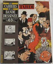 CAHIERS DE LA BANDE DESSINEE - N° 63 - TARDI, Goossens, Mouminoux, Little Nemo