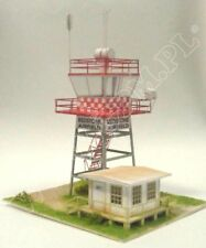 Airfield Control Tower 1:72 scale Model Kit (LASERCUT PARTS - PREPAINTED ) NEW