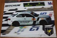 2014 Mitchum Motorsports #10 BMW 128i ST IMSA CTSC postcard