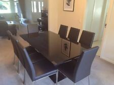Glass Extending Dining Furniture Sets