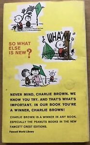 YOU'RE A WINNER CHARLIE BROWN! by Charles M. Schulz 1960 PB