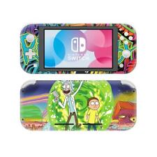 Nintendo Switch Lite Console Vinyl Skin Stickers Decals Set Rick and Morty Anime