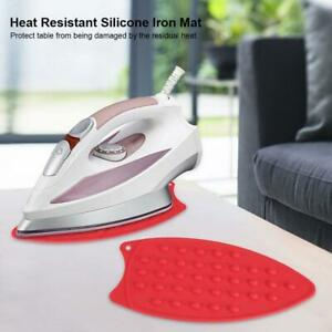 Portable Silicone Iron Rest Pad For Ironing Board Heat Resistant Mat D new