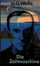 Wells, la máquina del tiempo, utopía Roman, Rowohlt rororo Taschenbuch alin 1964