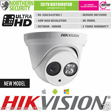Hikvision 2.8 mm 4MP 2MP EXIR 30 M IR WDR ONVIF TORRETTA P2P a cupola IP telecamera di sorveglianza
