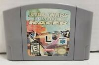 *GOOD* Star Wars Episode 1 Racer Nintendo 64 N64 Retro Game Cart Jedi TESTED