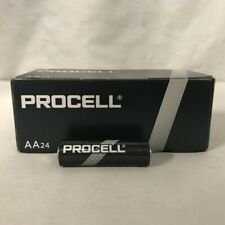 24 New AA Procell Alkaline Batteries by Duracell PC1500 EXP 2026