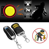 Motorcycle MotorBike Remote Control Anti-theft Scooter Car Security Alarm System